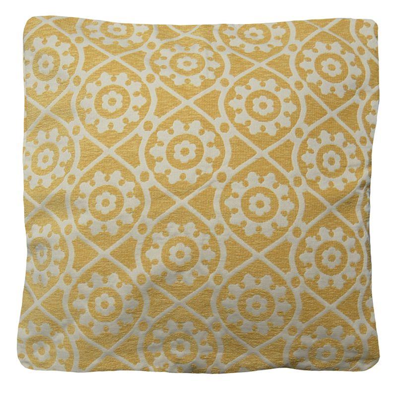 Yellow Floral Throw Pillow Kohl 39 S