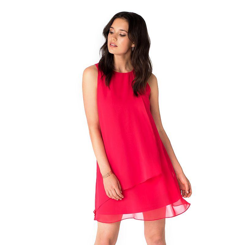Women's Indication Ruffle Shift Dress