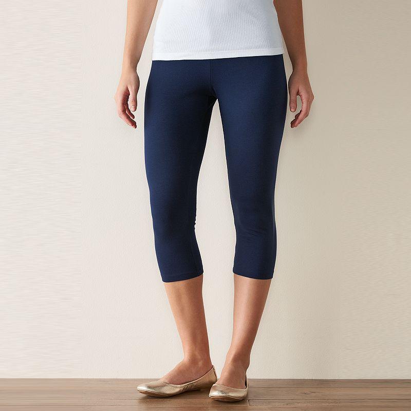 Women's SONOMA Goods for Life™ Knit Crop Leggings