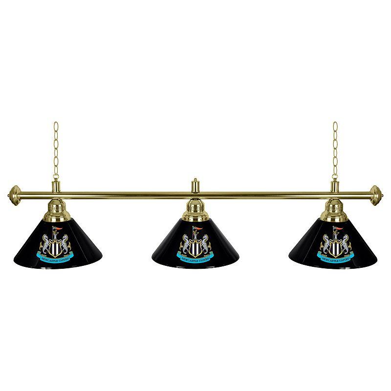 Newcastle United FC Chrome Bar Lamp