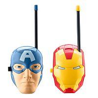 Marvel Avengers Captain American & Iron Man Walkie Talkies