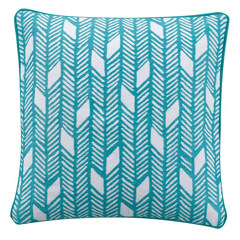 KAS Camille Embroidered Throw Pillow