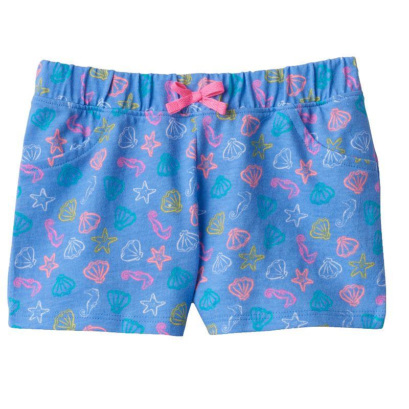 Baby Girl Jumping Beans® Colorful Printed Shorts