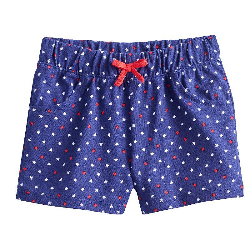 Baby Girl Jumping Beans® Star Shorts