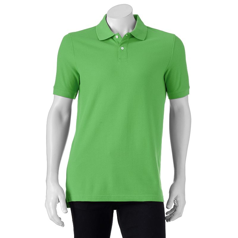 Men's Croft & Barrow® Tailored-Fit Pique Polo