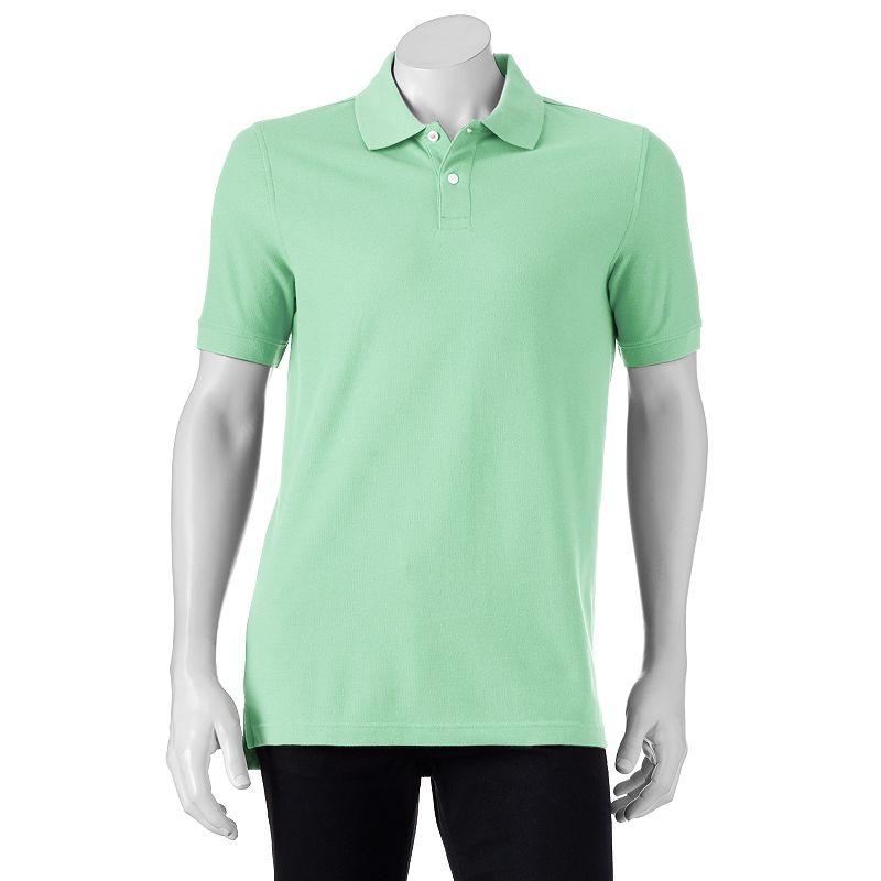 Men's Croft & Barrow® Tailored-Fit Pique Polo