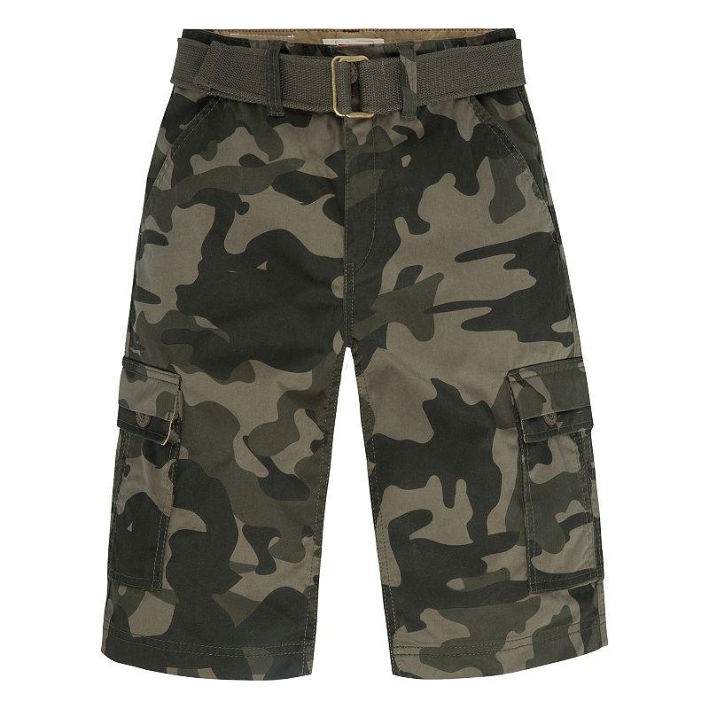 Boys 8-20 Levi's West Coast Belted Cargo Shorts