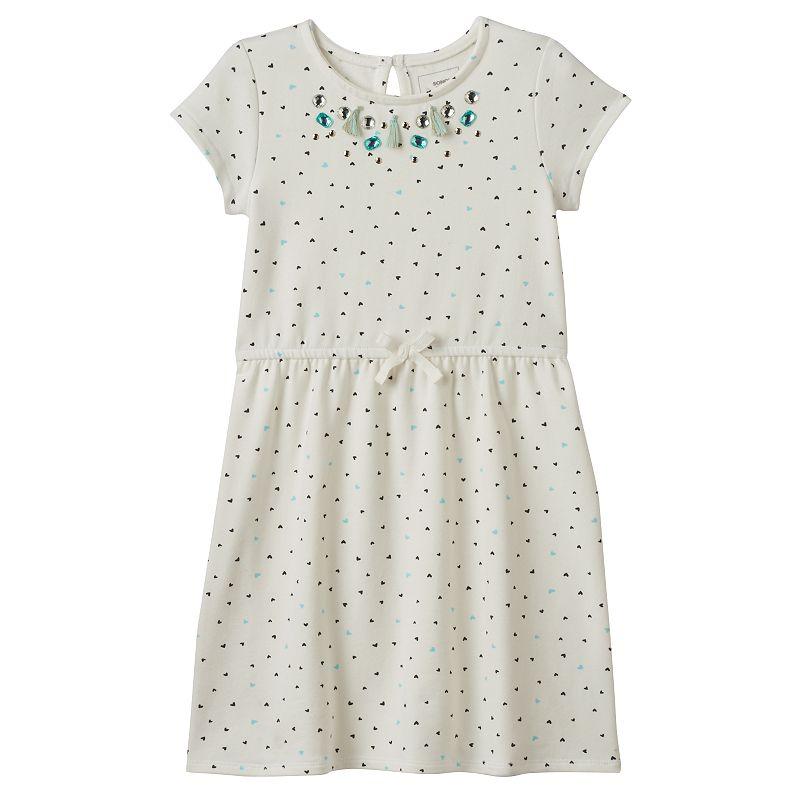 Girls 4-7 SONOMA Goods for Life™ Rhinestone & Tassels Dress