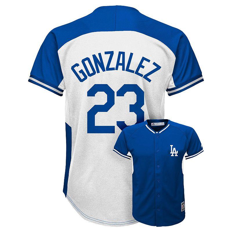 Boys 8-20 Majestic Los Angeles Dodgers Adrian Gonzalez Replica Jersey