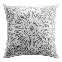 INK+IVY Sofia Embroidered Throw Pillow