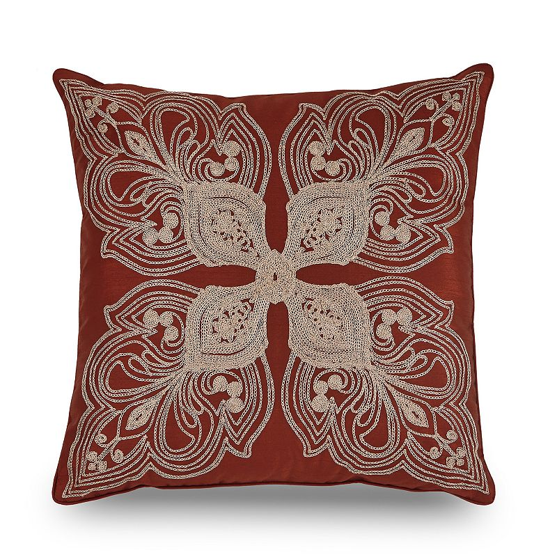 Downton Abbey Grantham Embroidered Throw Pillow