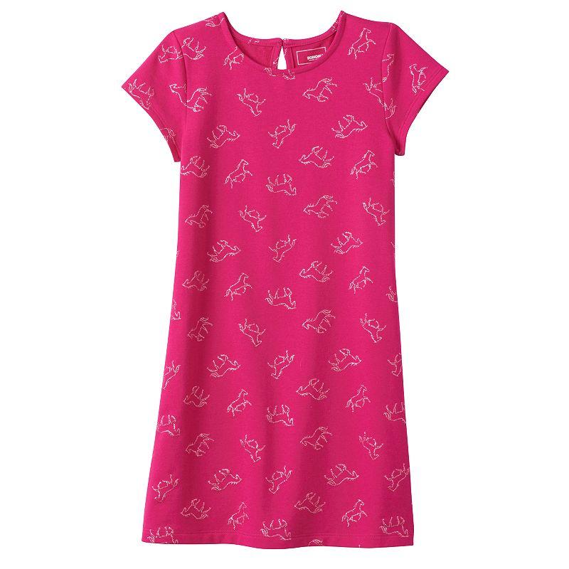 Girls 4-7 SONOMA Goods for Life™ Printed Shift Dress