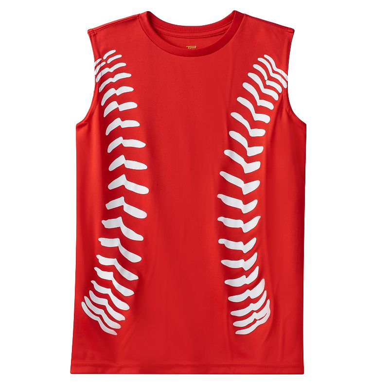 Boys 8-20 Tek Gear® Baseball Stitches Tank Top