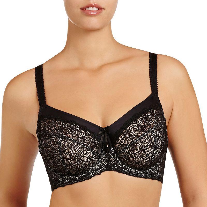 Fayreform Bra: Delicate Lace Underwire Full-Figure BraF20-599