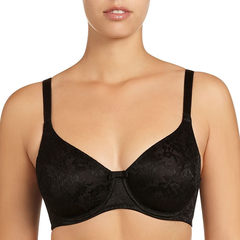 Fayreform Bra: Smoothing Lace Full-Figure Full-Coverage Bra F20-602