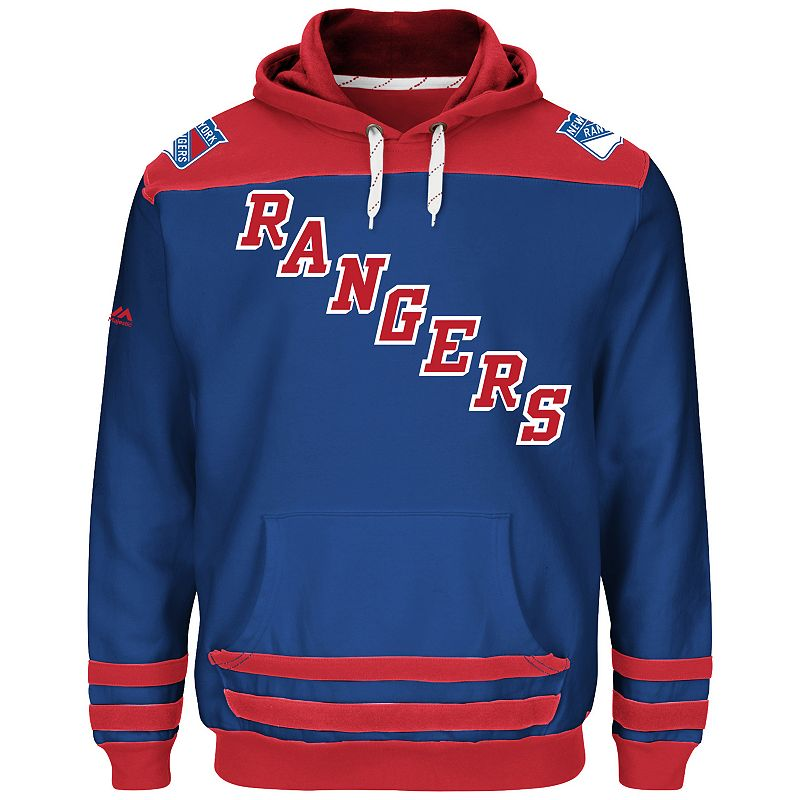 Big & Tall New York Rangers Fleece Hoodie