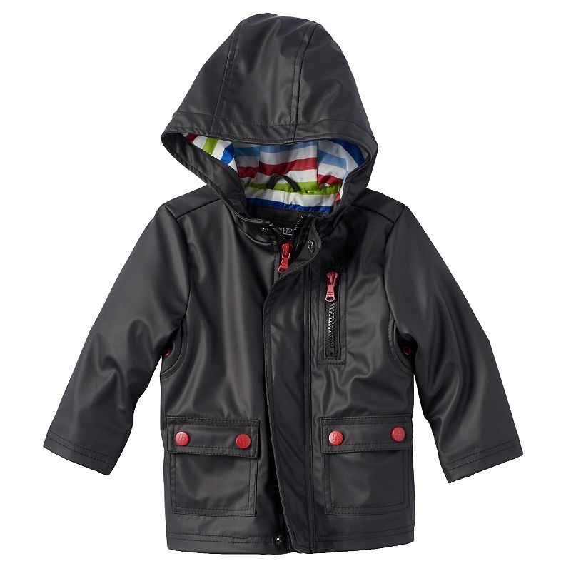Boys 4-7 Urban Republic Hooded Rain Jacket