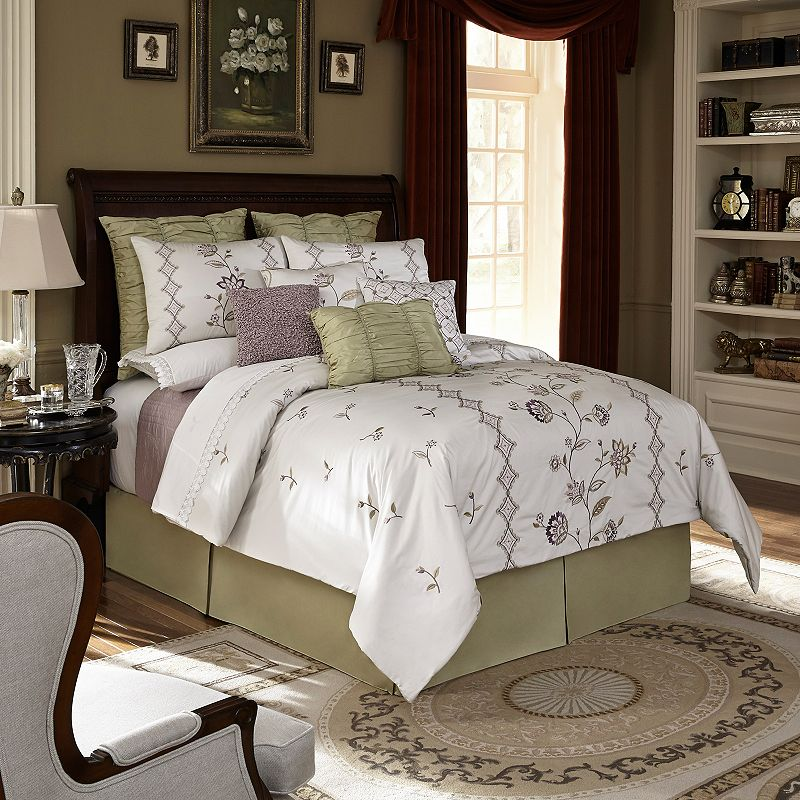 Downton Abbey Crawley 4-piece Bed Set