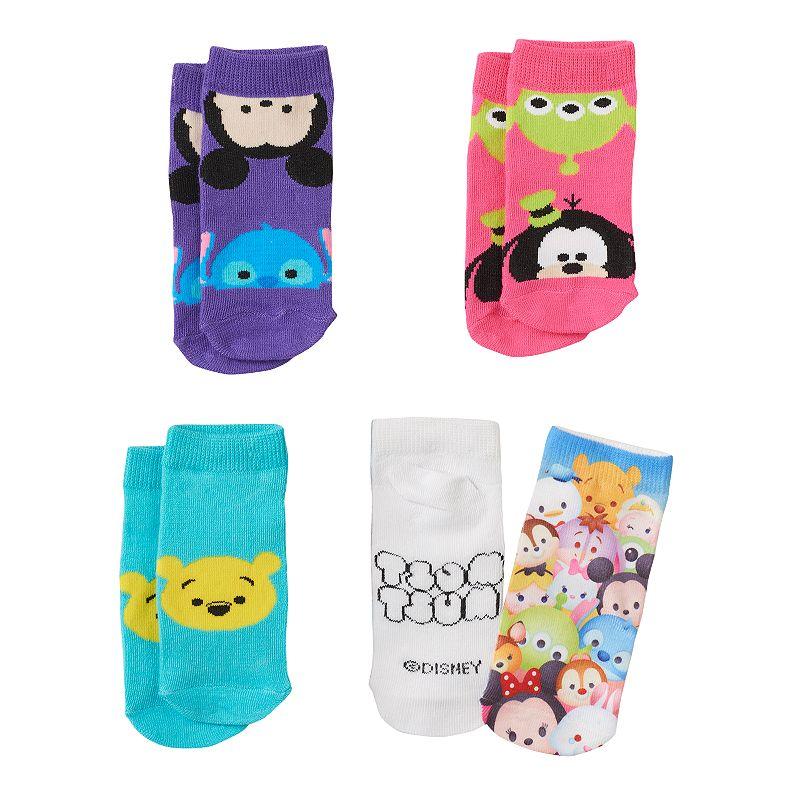 Disney's Tsum Tsum Girls 4-pk. No-Show Socks
