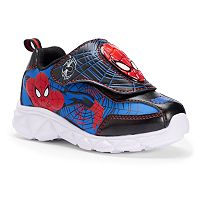 Marvel Spider-Man Toddler Boys' Light-Up Shoes