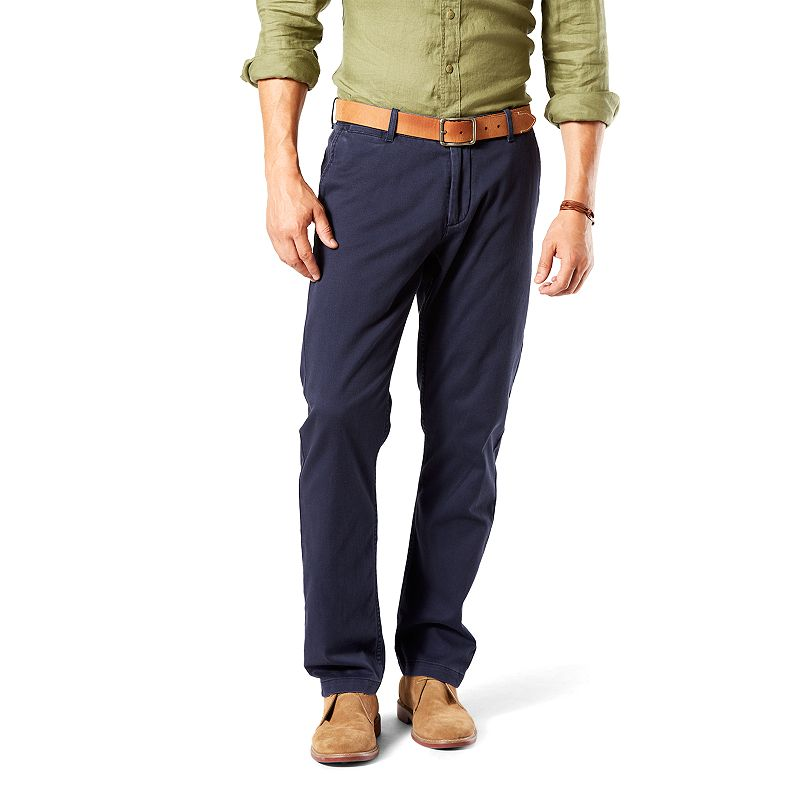 Men's Dockers Athletic-Fit Stretch Washed Khaki Pants