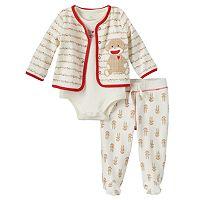 Baby Neutral Baby Starters Sock Monkey Pajama Set