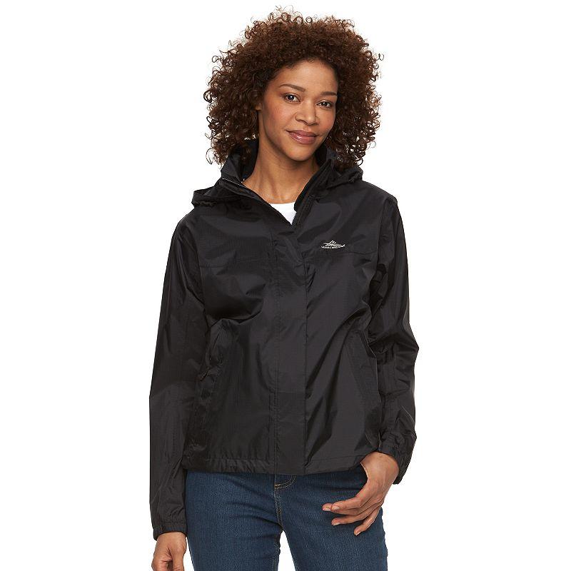 Women's High Sierra Easy Trek Hooded Packable Rain Jacket