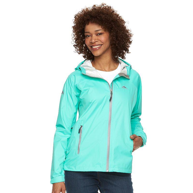 Women's High Sierra Isles Hooded Packable Rain Jacket