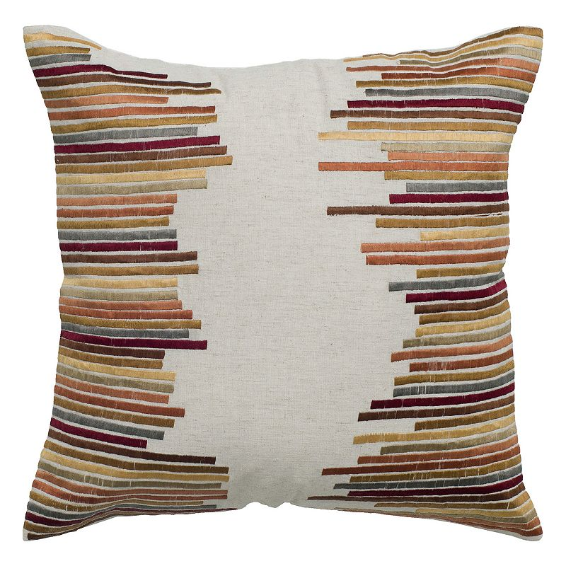 Rizzy Home Vibrant Throw Pillow