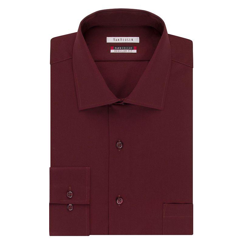 Men 39 S Van Heusen Flex Collar Classic Fit Dress Shirt Size