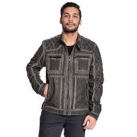 Men's Excelled Quilted Moto Jacket
