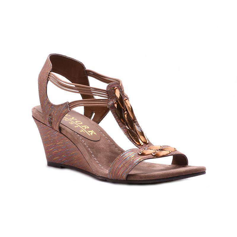 New York Transit Great Nature Women's Wedge Sandals