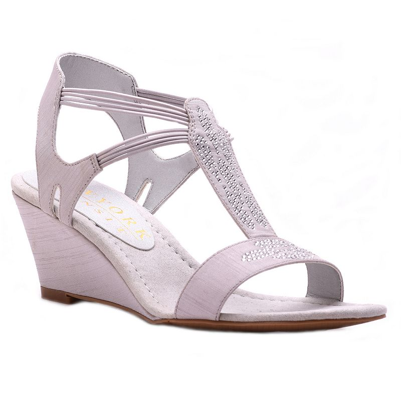 New York Transit Greatest One Women's Wedge Sandals