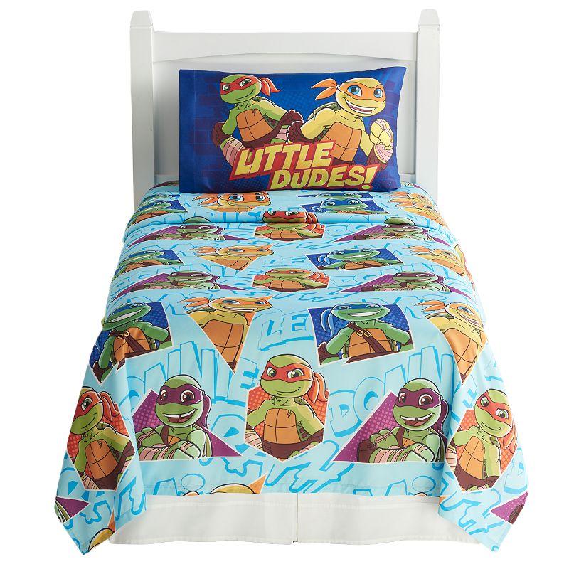 Teenage Mutant Ninja Turtles Half Shells Sheet Set