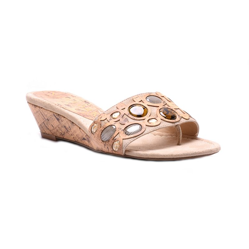 New York Transit Just You Women's Wedge Sandals