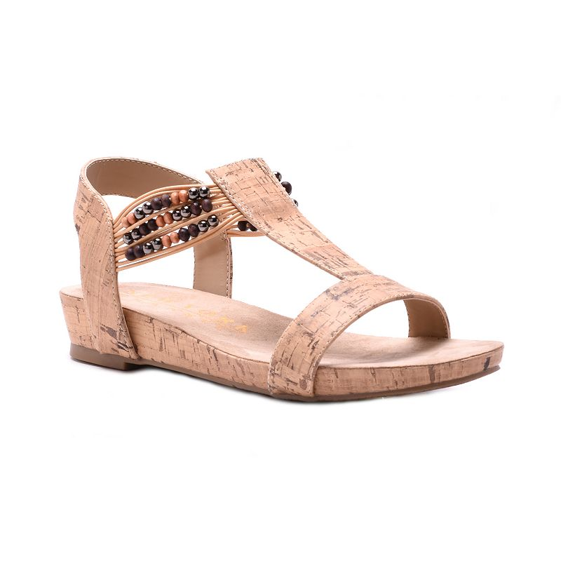 New York Transit Sweeter Touch Women's T-Strap Sandals