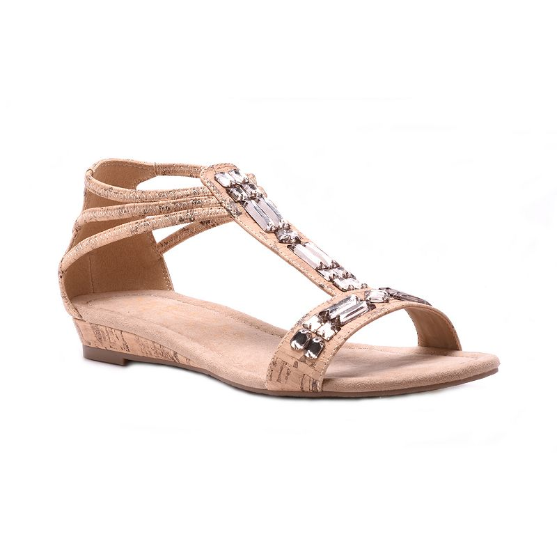 New York Transit Sweetest Ever Women's T-Strap Sandals