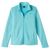Girls 7-16 FILA SPORT® Sweater-Knit Fleece Jacket