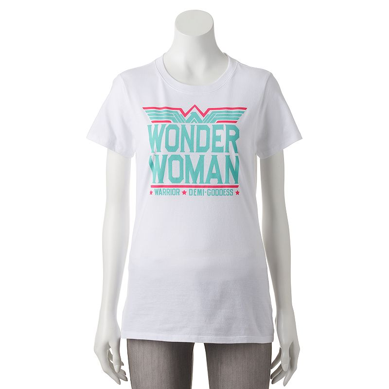 Juniors' DC Comics Wonder Woman Logo T-Shirt
