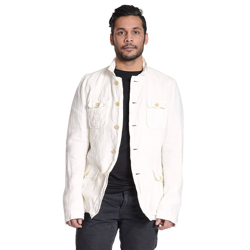 Men's Excelled Linen Shirt Jacket
