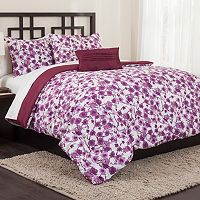 Republic Carmel Plum 5-piece Bed Set