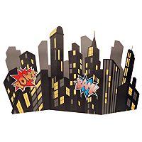 Superhero Comics City Scape Standup