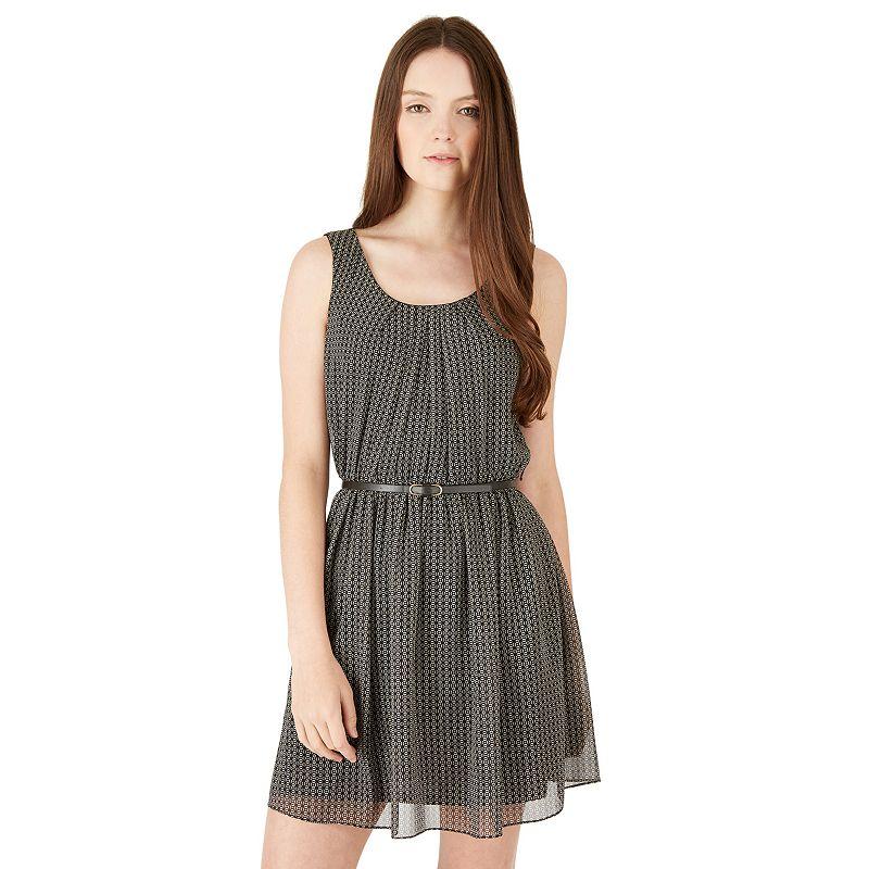 Juniors' IZ Byer California Lined Pintuck Dress
