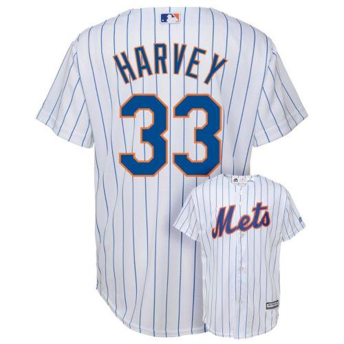 Boys 8-20 Majestic New York Mets Matt Harvey Replica Jersey