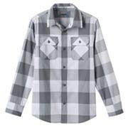 Boys 8-20 Tony Hawk Buffalo Check Button-Front Shirt
