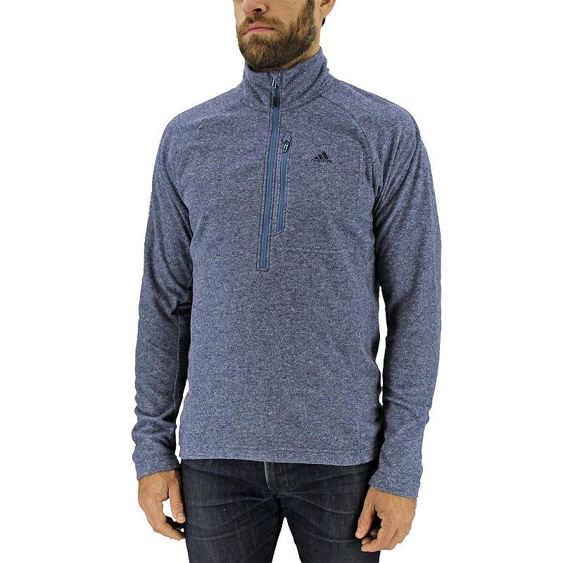 Men's adidas Half-Zip Pullover Fleece Jacket