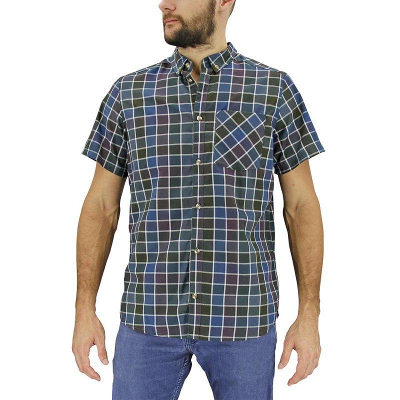 Men's adidas Sherman Plaid Button-Front Shirt