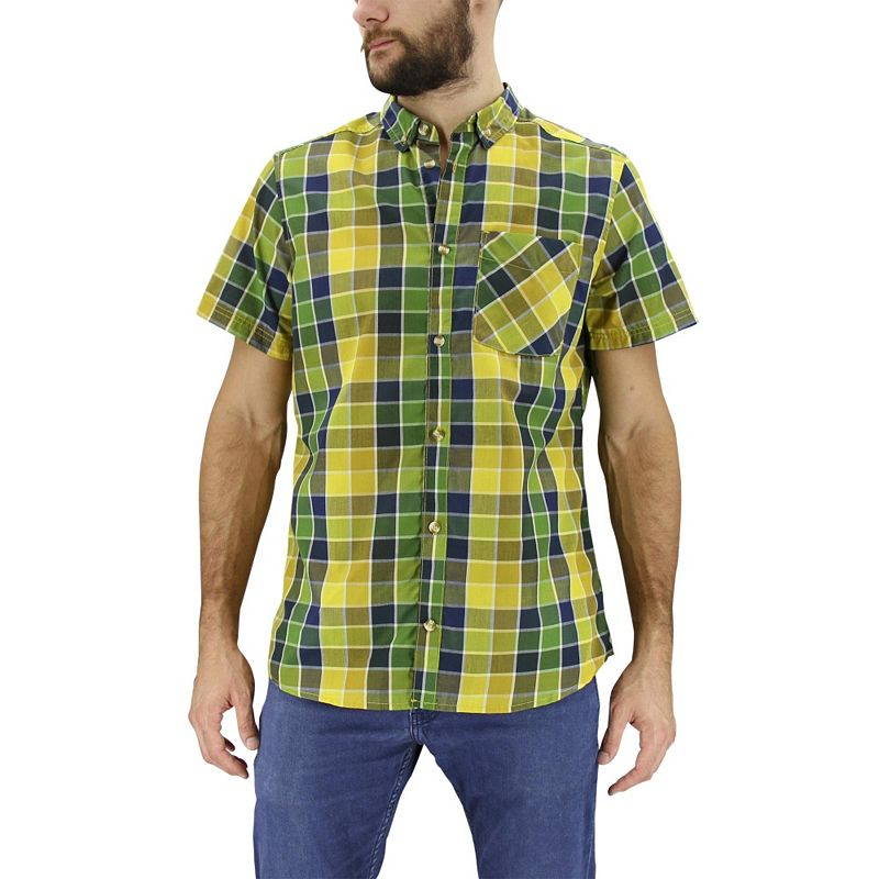 Men's adidas Sherman Plaid Button-Front Shirt