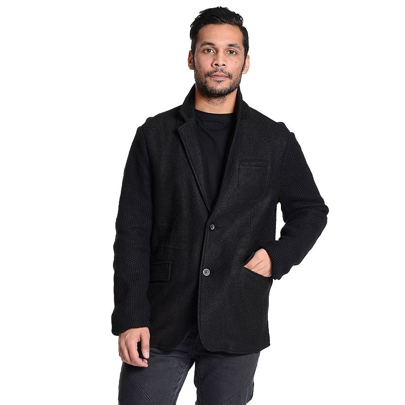 Men's Excelled Classic-Fit Wool-Blend Blazer Jacket