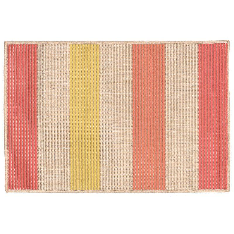 Trans Ocean Imports Liora Manne Playa Stripe Indoor Outdoor Rug